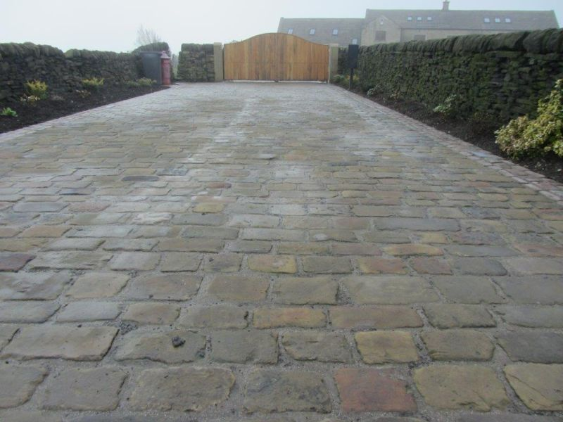Traditional Stone Driveways Yorkshire Driveways Stonework And Patios